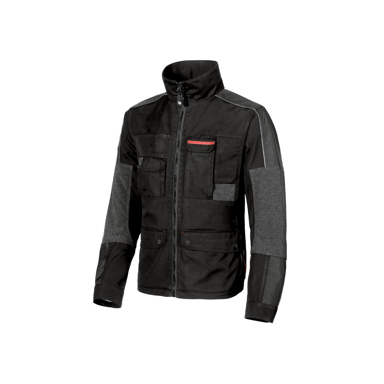 giacca da lavoro upower modello engine colore black car