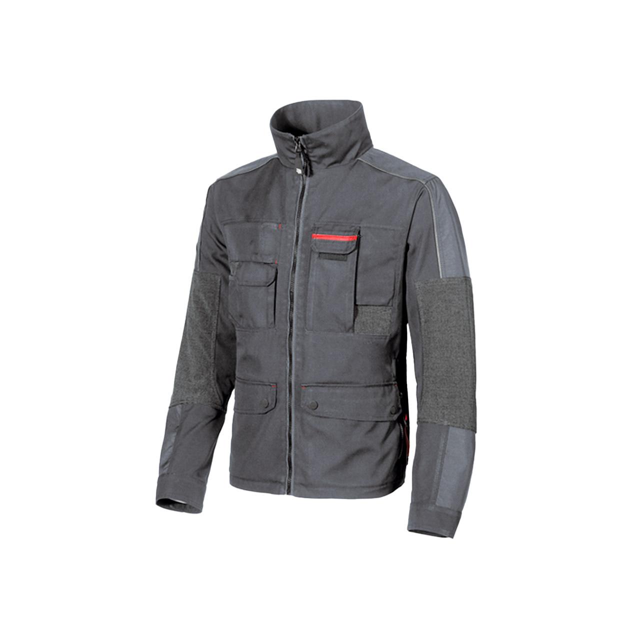 giacca da lavoro upower modello engine colore grey mete
