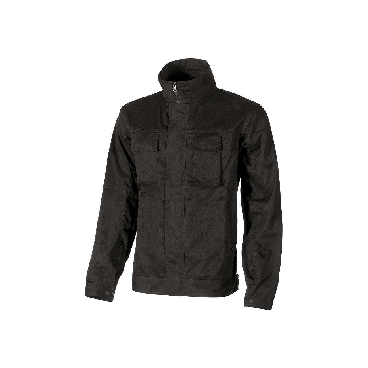 giacca da lavoro upower modello fox colore black carbon