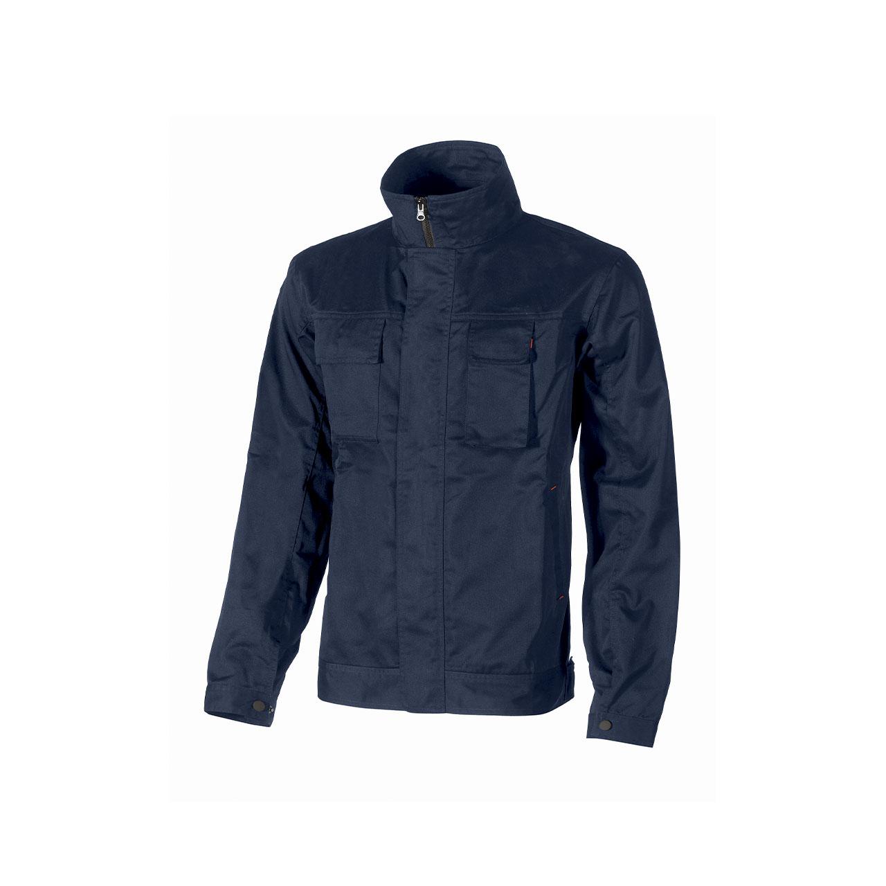 giacca da lavoro upower modello fox colore deep blue pr