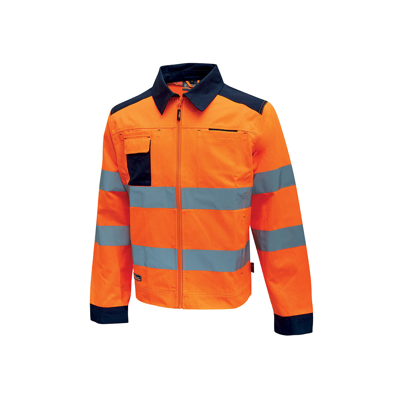 giacca da lavoro upower modello glare colore orange flu