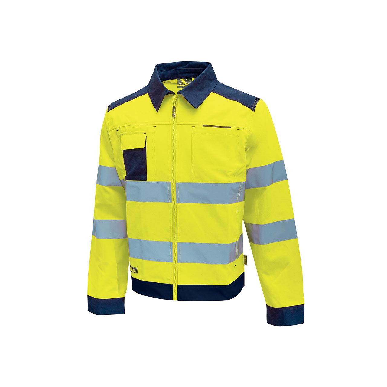 giacca da lavoro upower modello glare colore yellow flu
