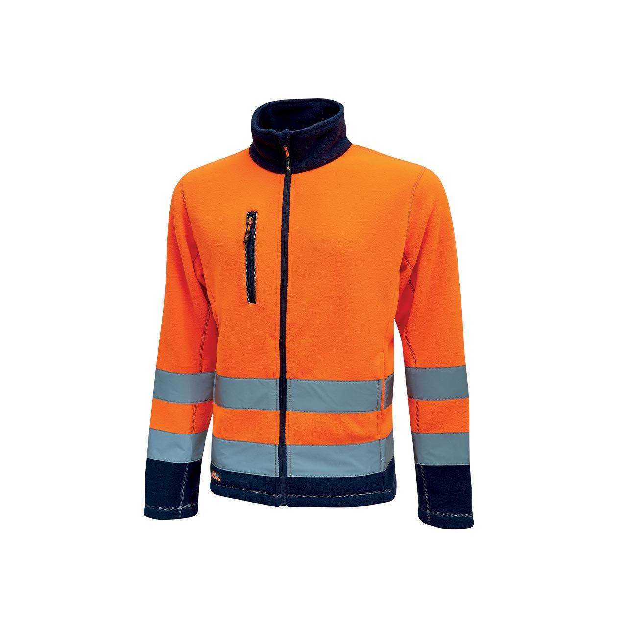 giacca da lavoro upower modello boing colore orange fluo
