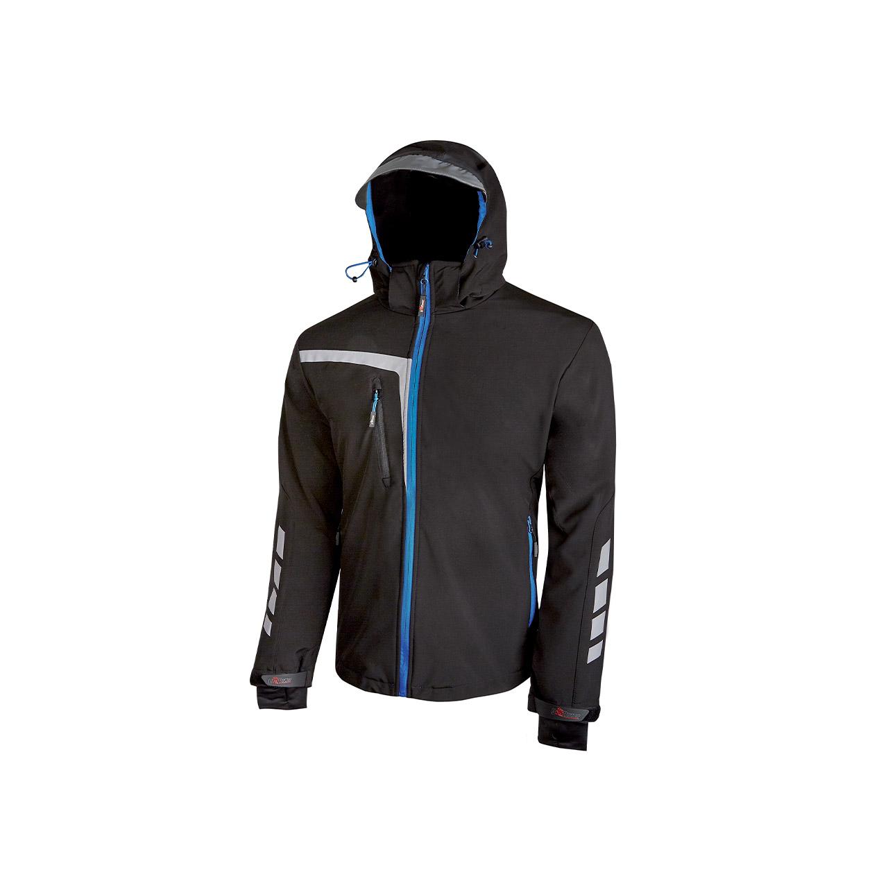 giacca da lavoro upower modello quick colore black carb
