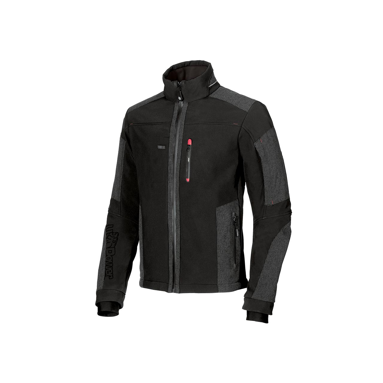 giacca da lavoro upower modello rally colore black carb