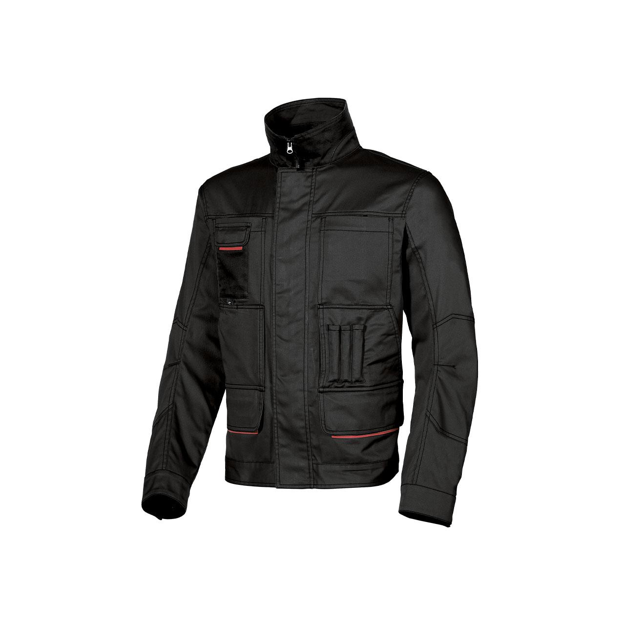 giacca da lavoro upower modello shake colore black carb