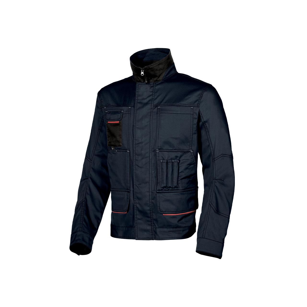 giacca da lavoro upower modello shake colore deep blue