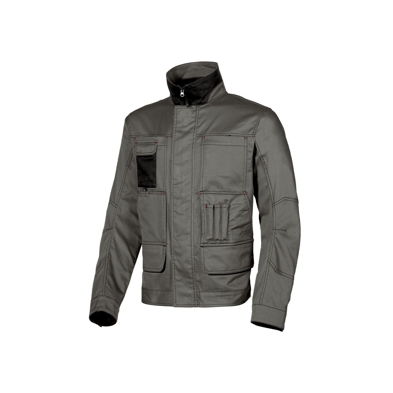 giacca da lavoro upower modello shake colore stone grey