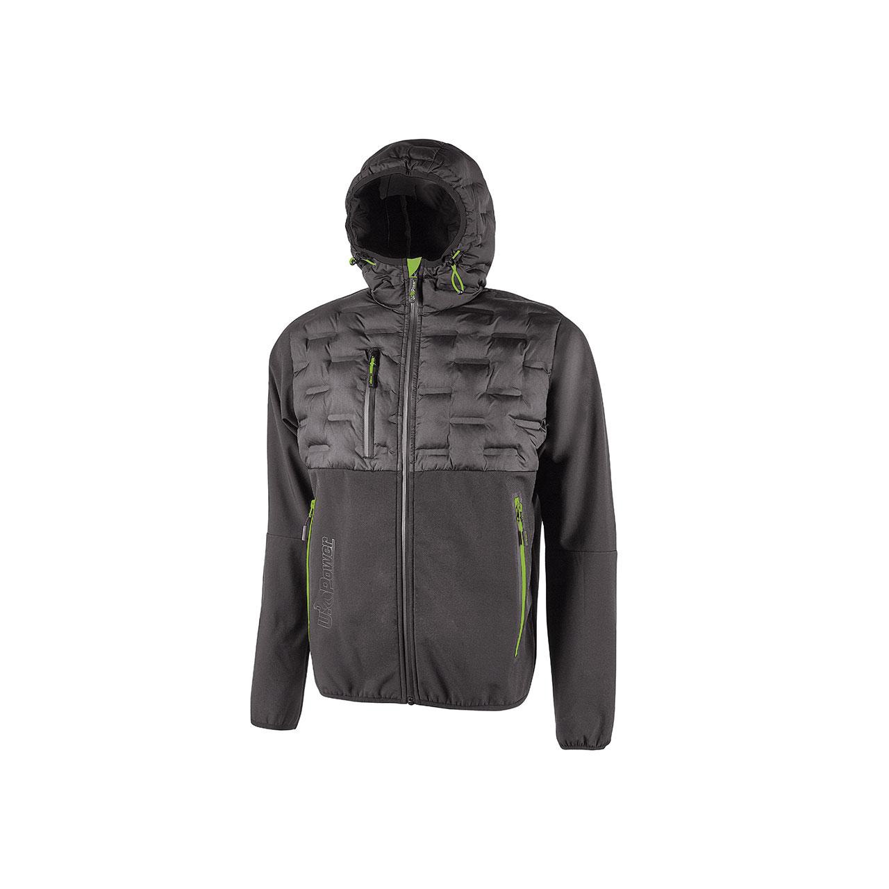 giacca da lavoro upower modello spock colore asphalt grey