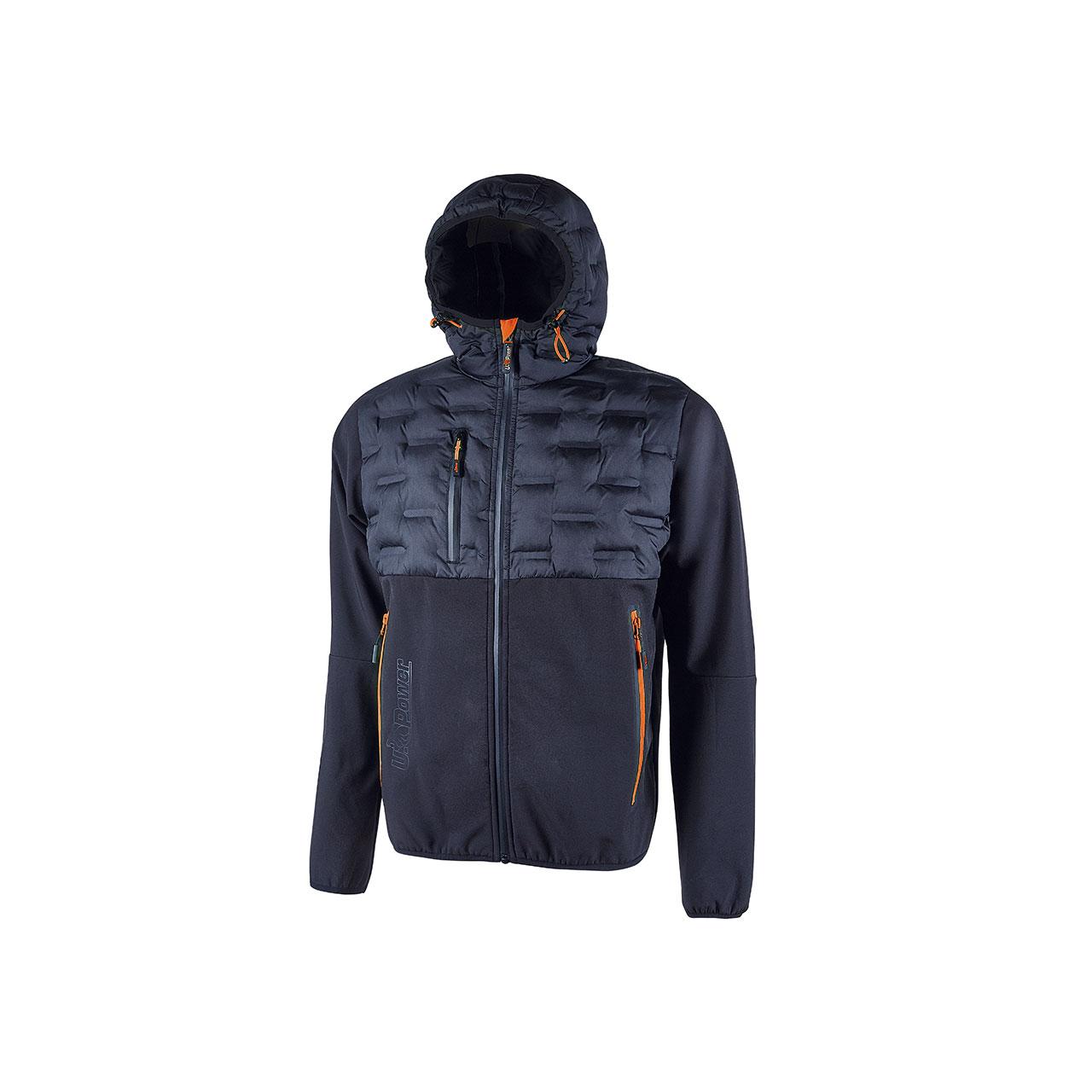 giacca da lavoro upower modello spock colore deep blue