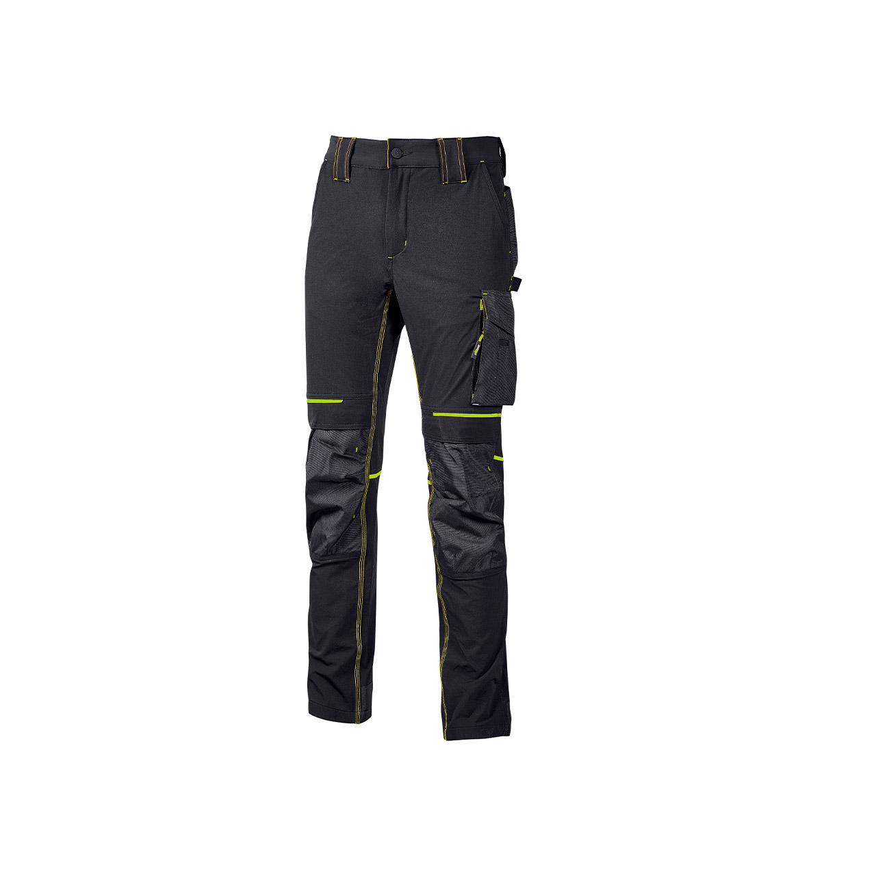 pantalone da lavoro upower modello atom colore asphalt grey green