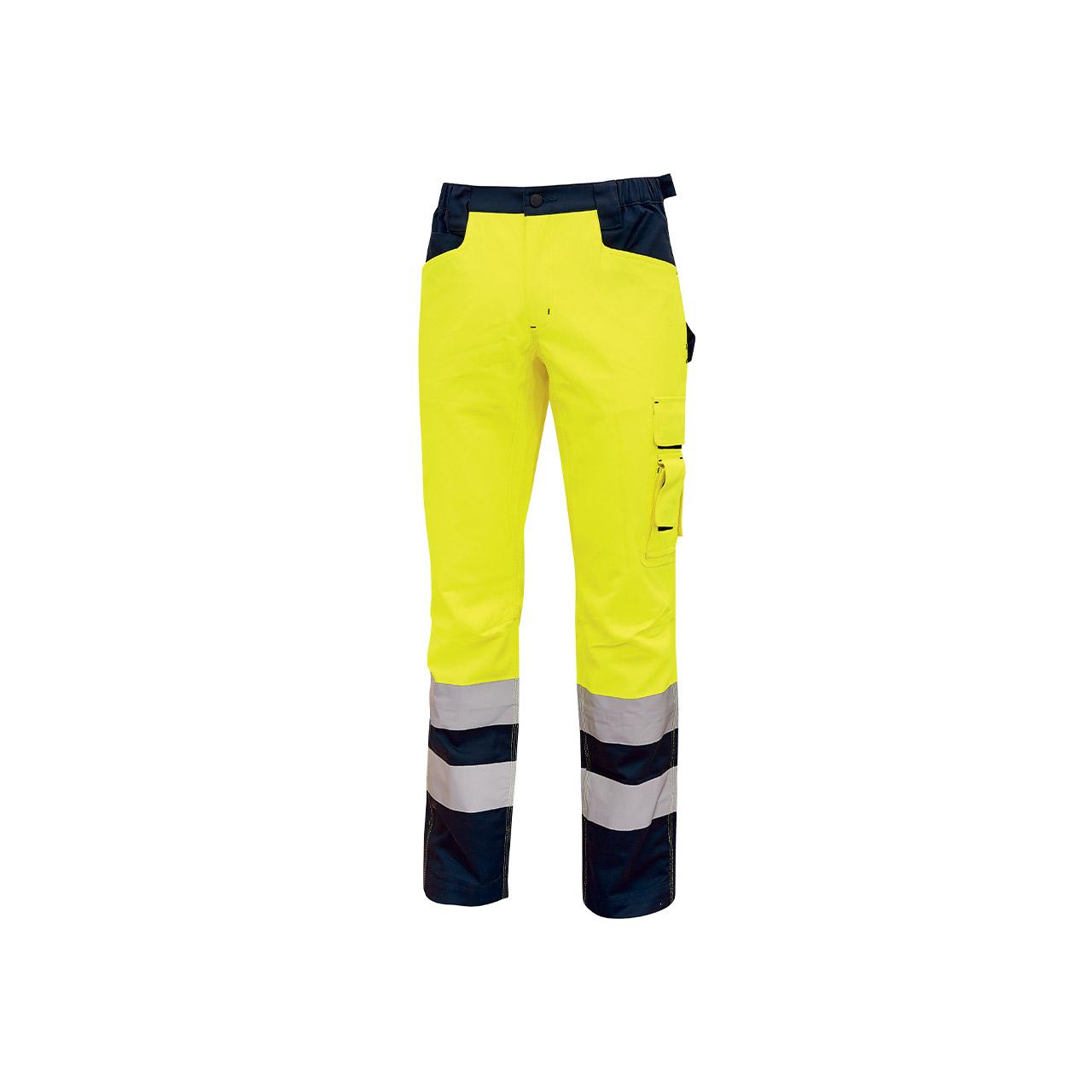 pantalone da lavoro upower modello beacon colore yellow