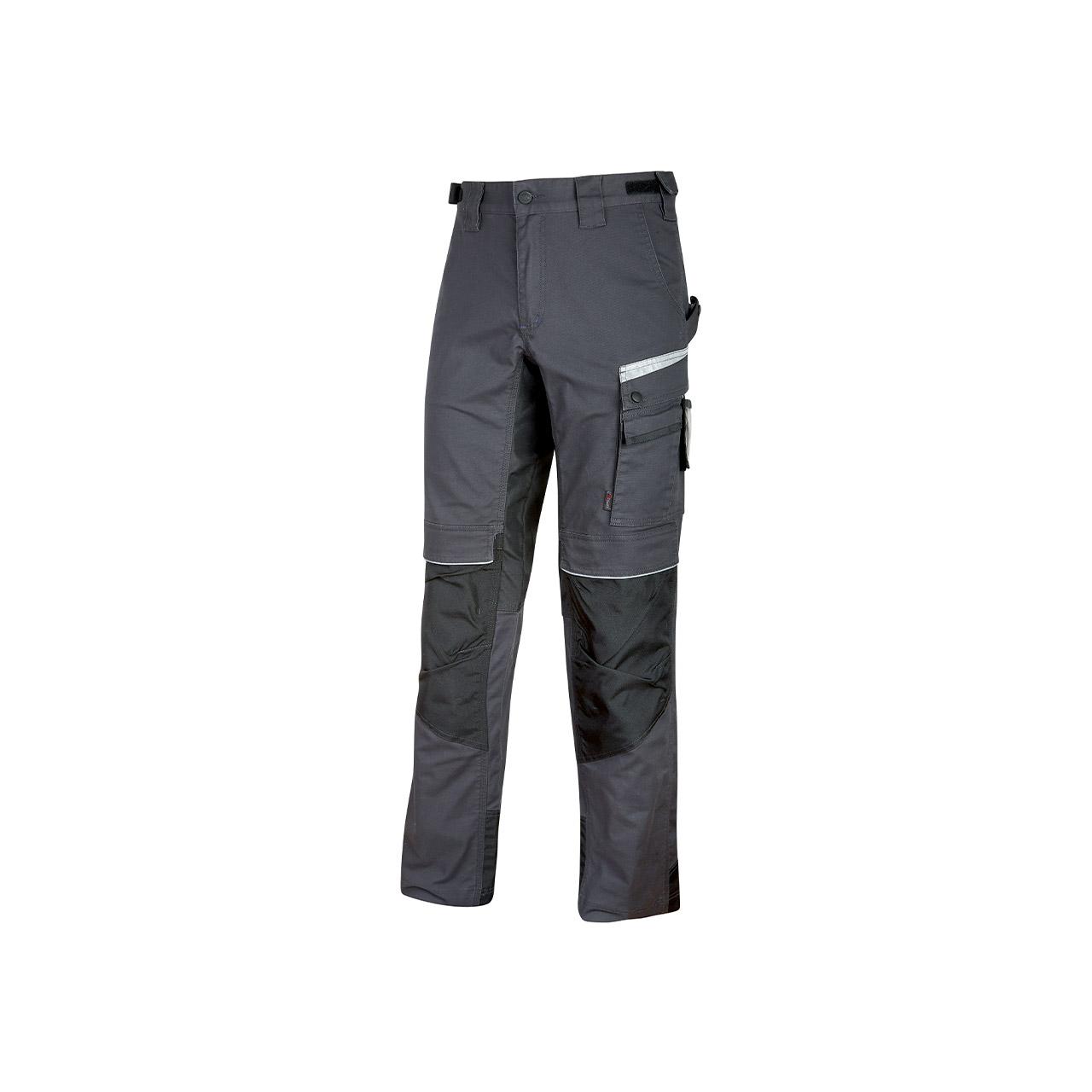pantalone da lavoro upower modello flash colore asphalt