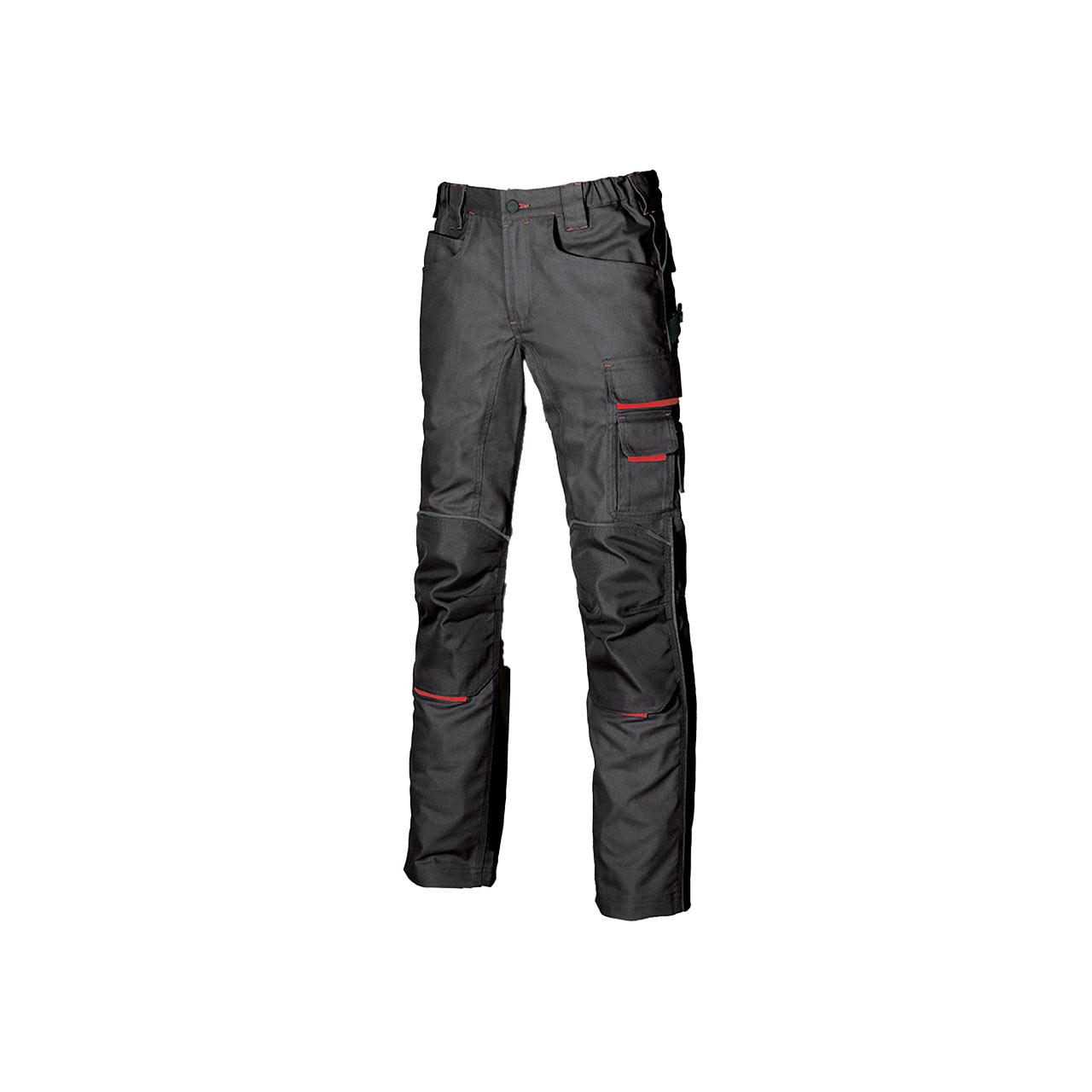 pantalone da lavoro upower modello free colore grey met