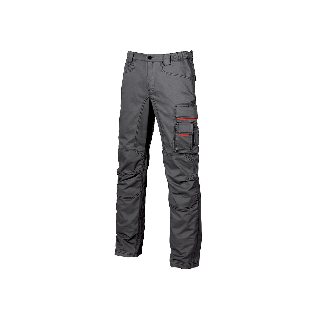 pantalone da lavoro upower modello grin colore grey met