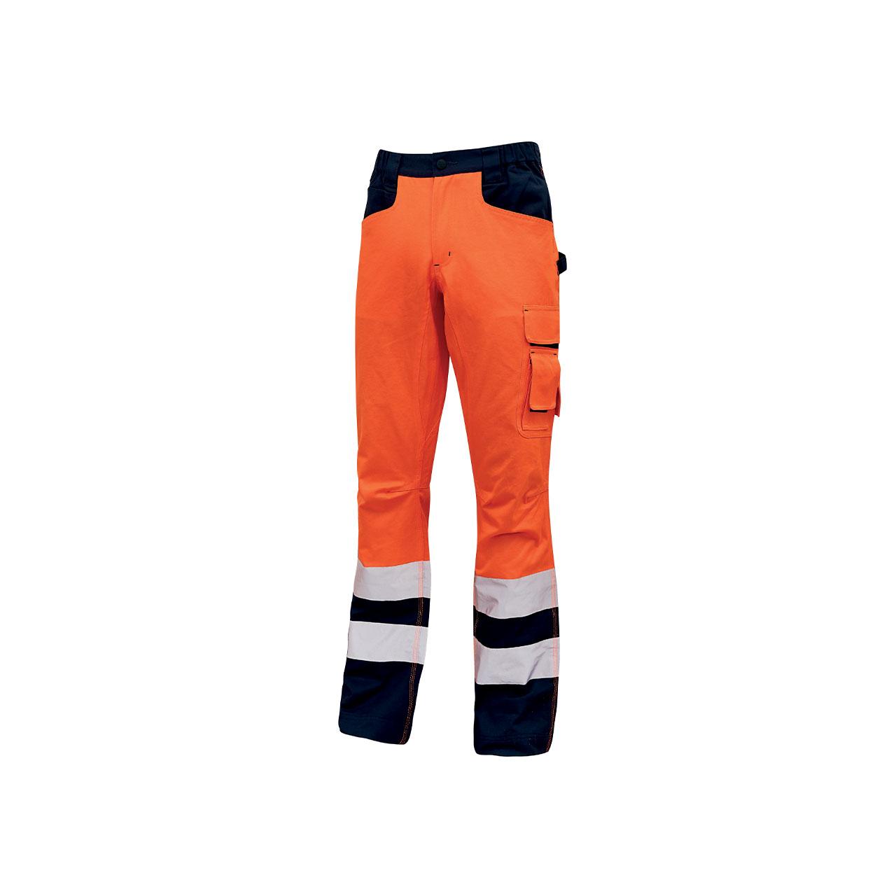 pantalone da lavoro upower modello radiant colore orang