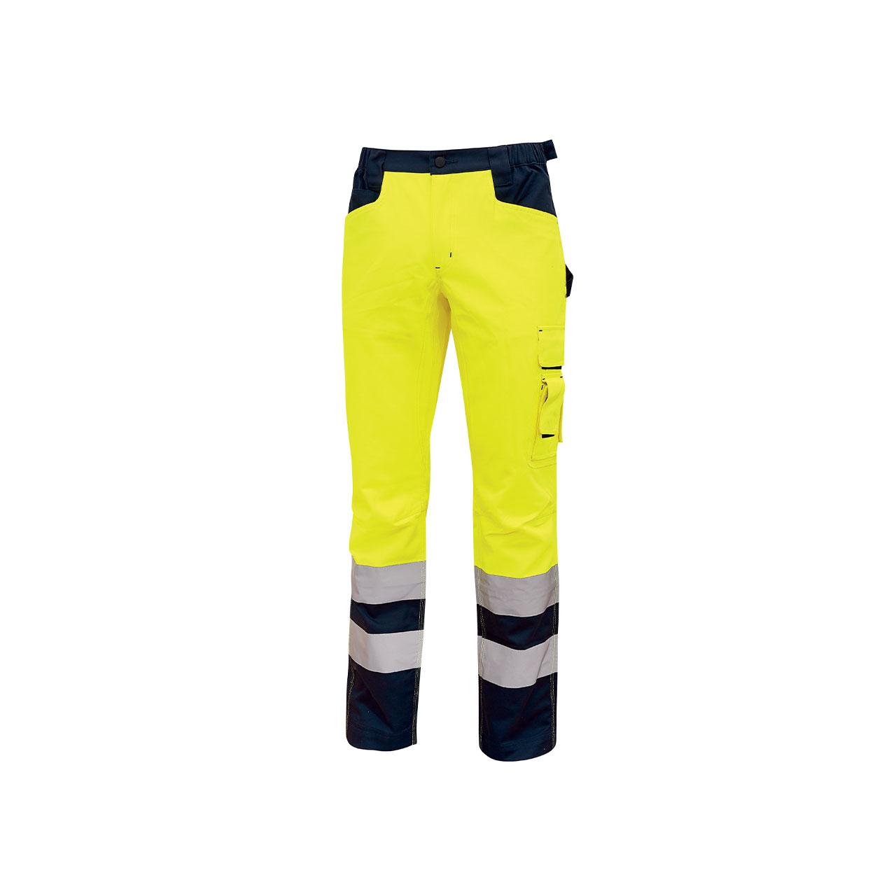 pantalone da lavoro upower modello radiant colore yello