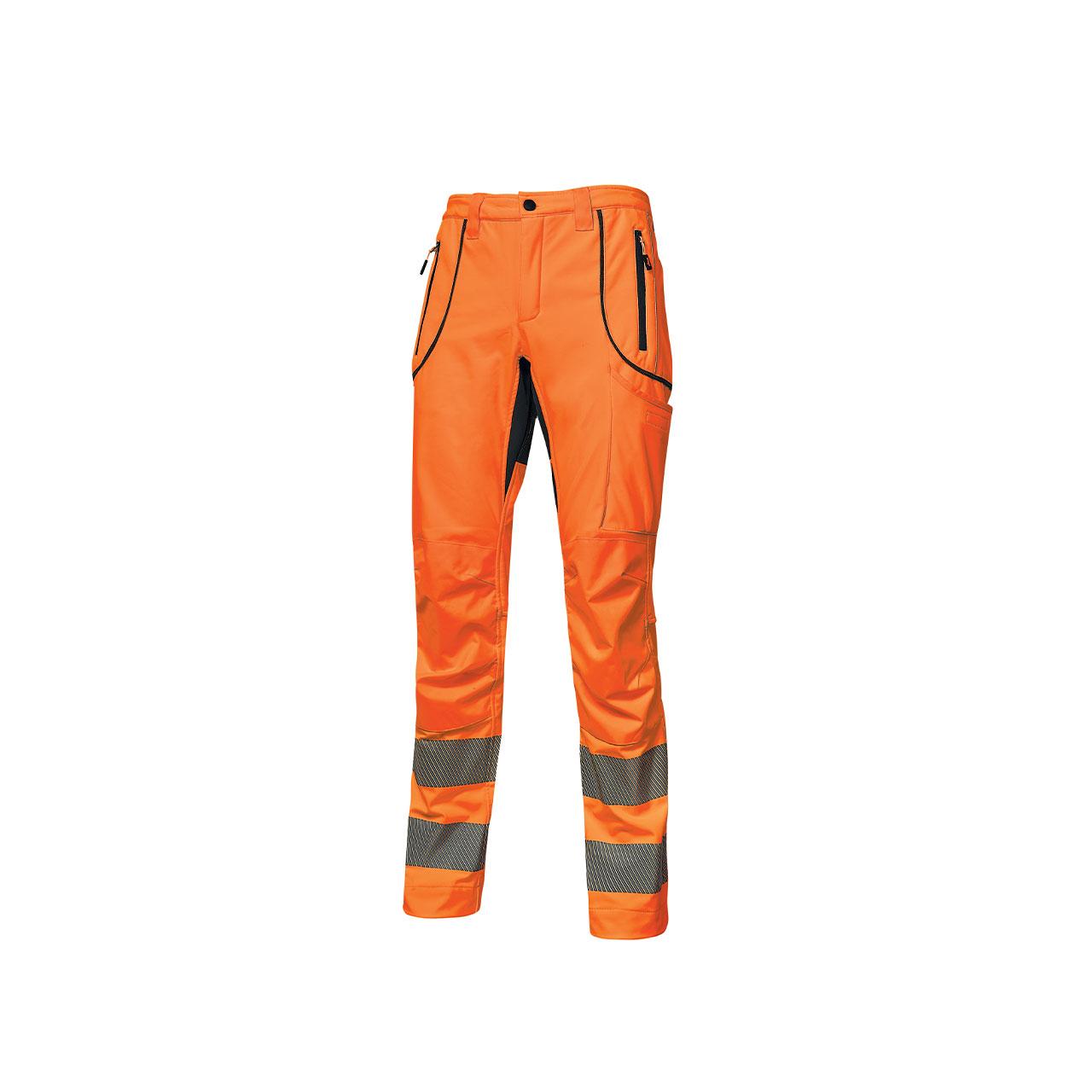 pantalone da lavoro upower modello ren colore orange fl