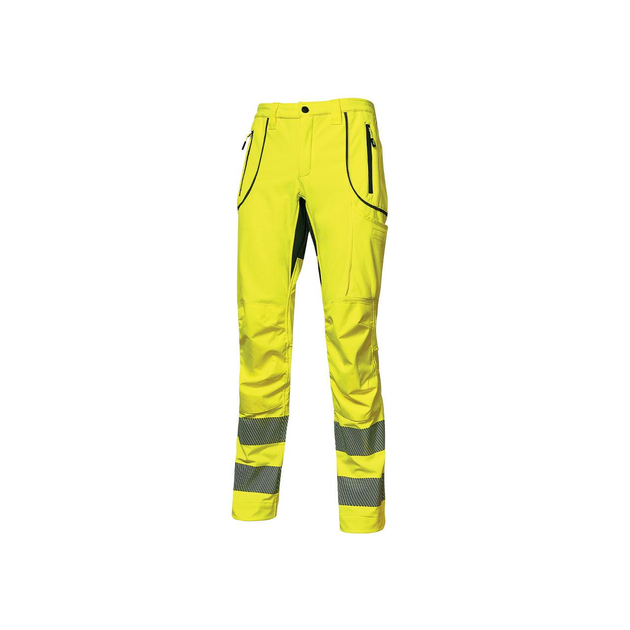 pantalone da lavoro upower modello ren colore yellow fl
