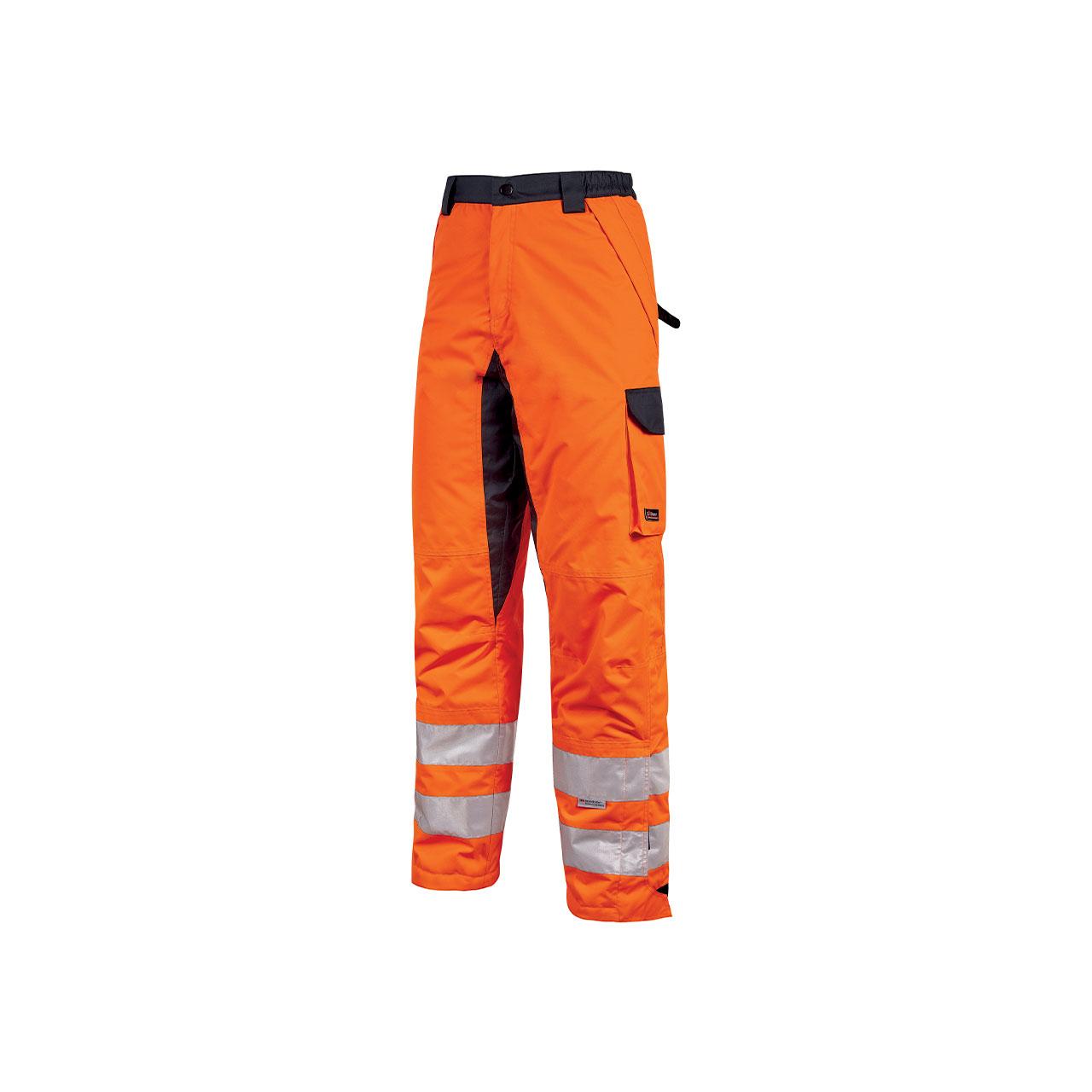 pantalone da lavoro upower modello subu colore orange f