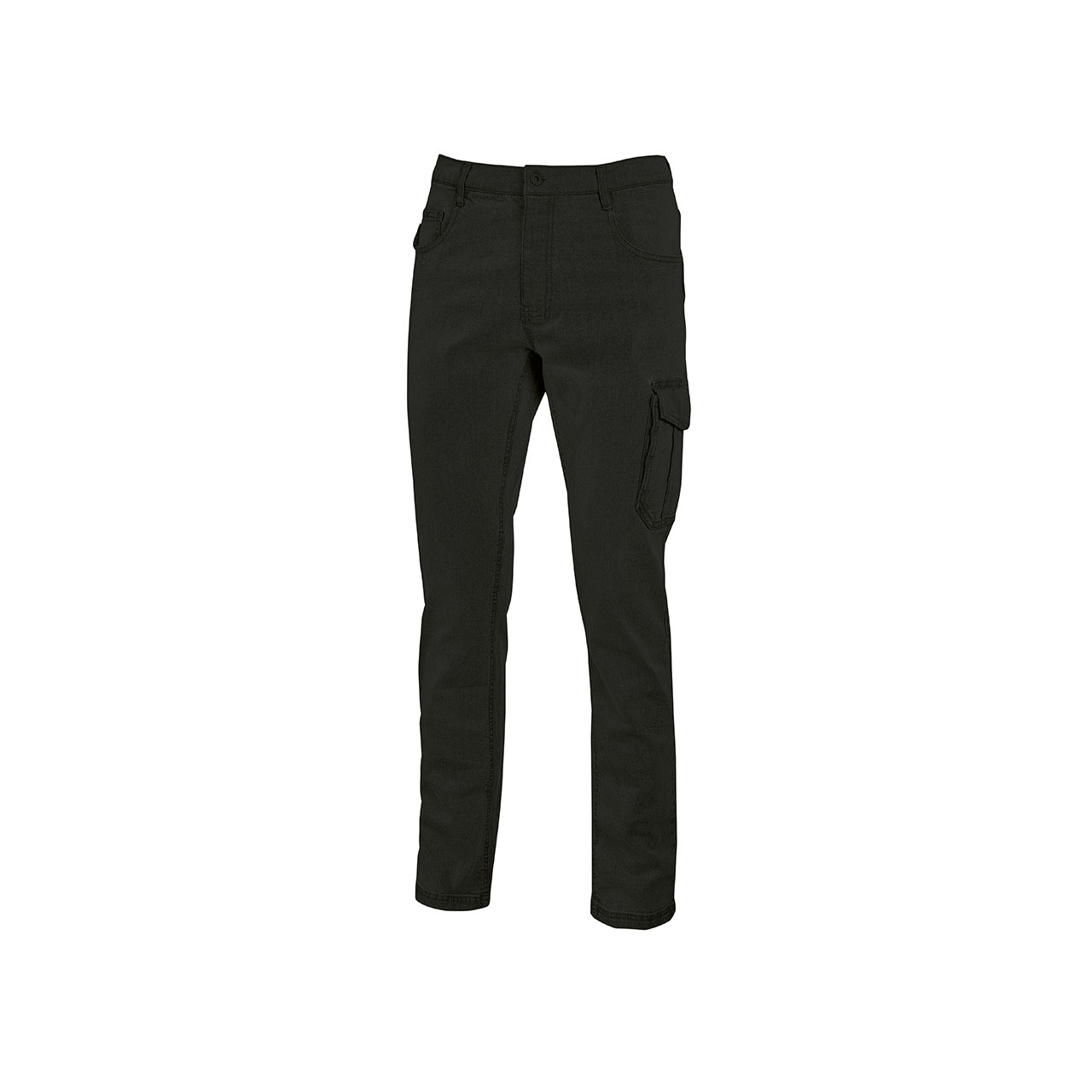 pantaloni da lavoro upower modello jam colore black carbon