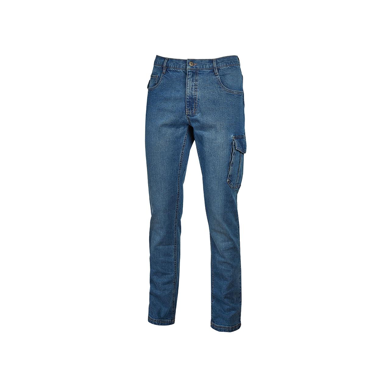pantaloni da lavoro upower modello jam colore guado jeans