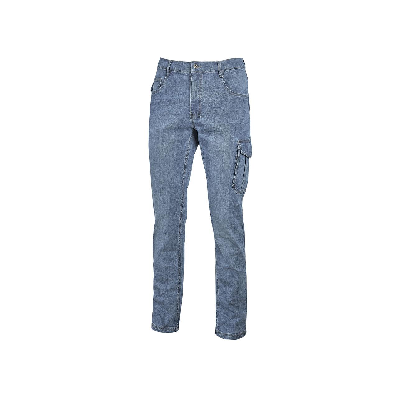 pantaloni da lavoro upower modello jam colore light jeans