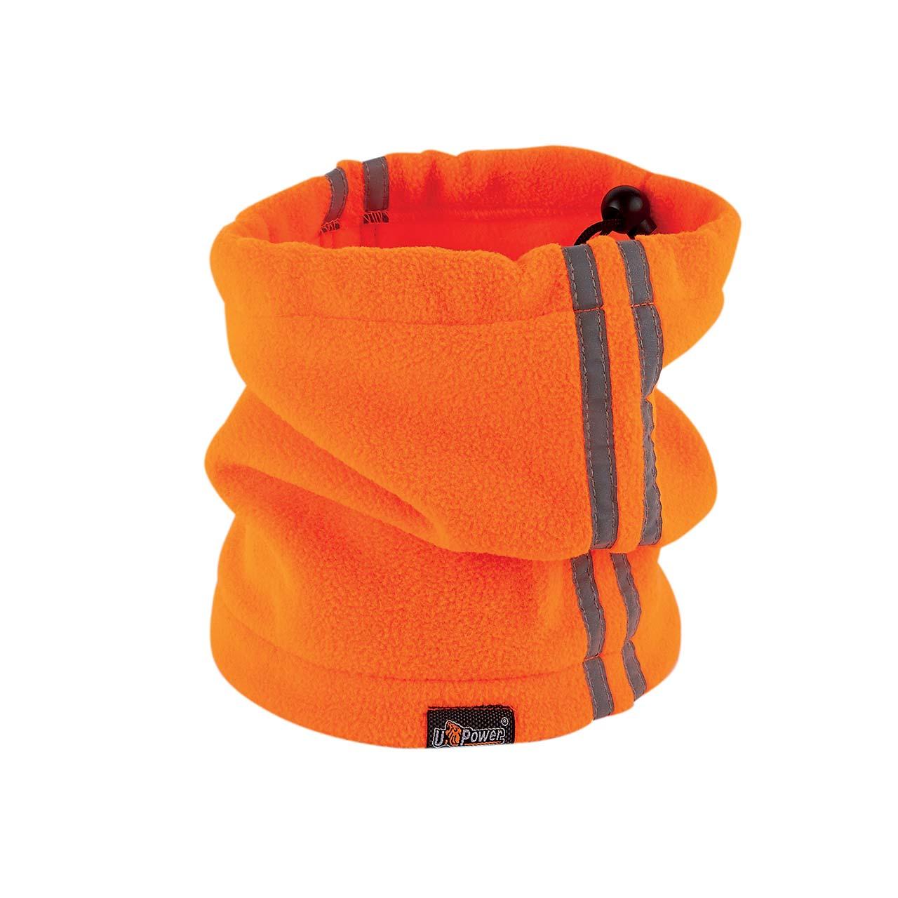 scaldacollo da lavoro upower colore orange fluo prodott