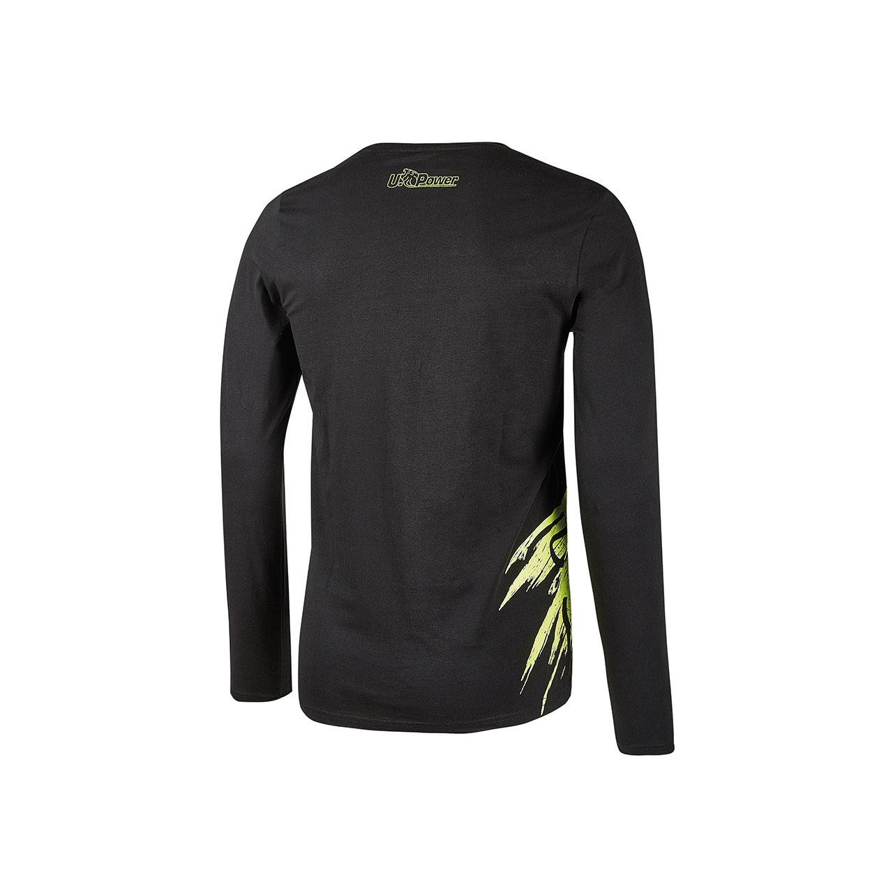 tshirt da lavoro upower modello alien colore black carbon retro