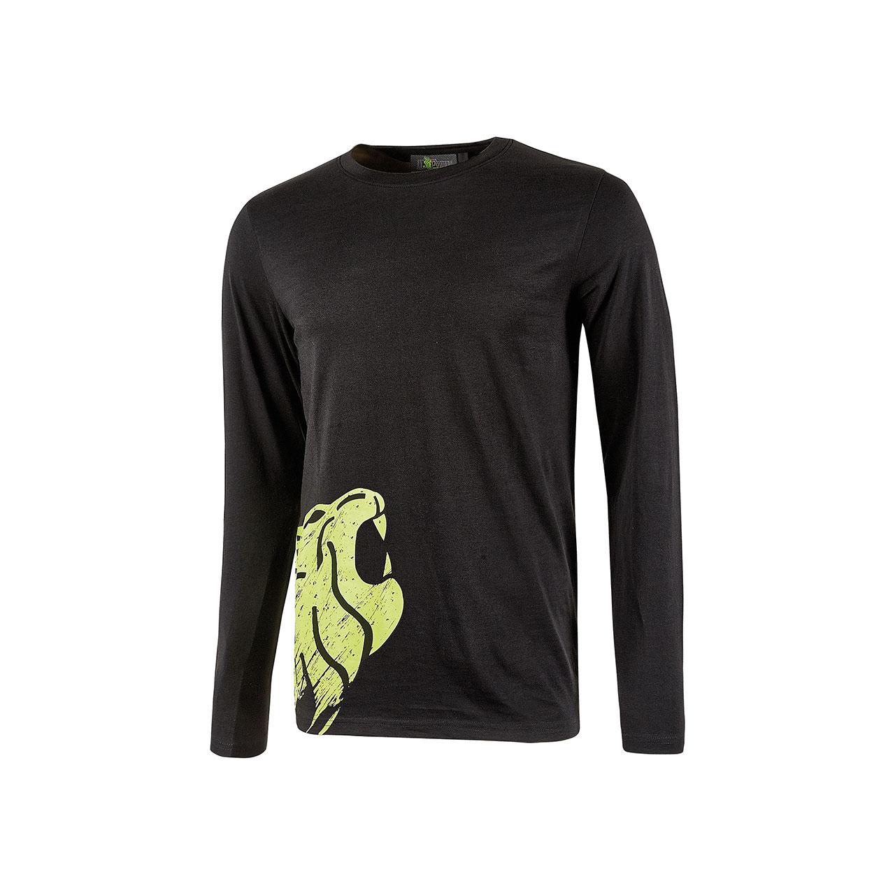 tshirt da lavoro upower modello alien colore black carbon