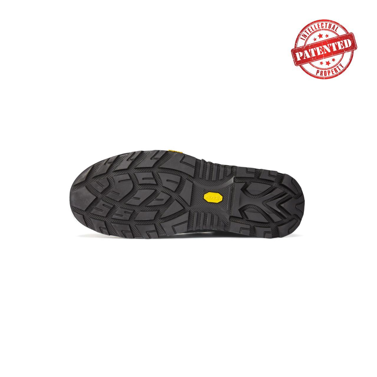 battistrada suola scarpe da lavoro linea redover vibram nera