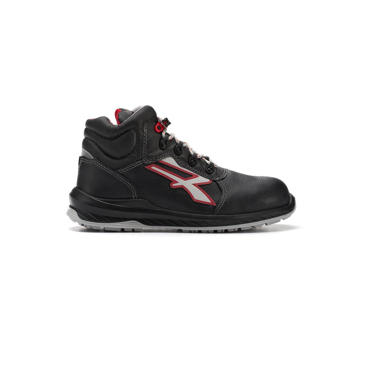 calzatura da lavoro alta upower modello boston linea redindustry vista lato destro