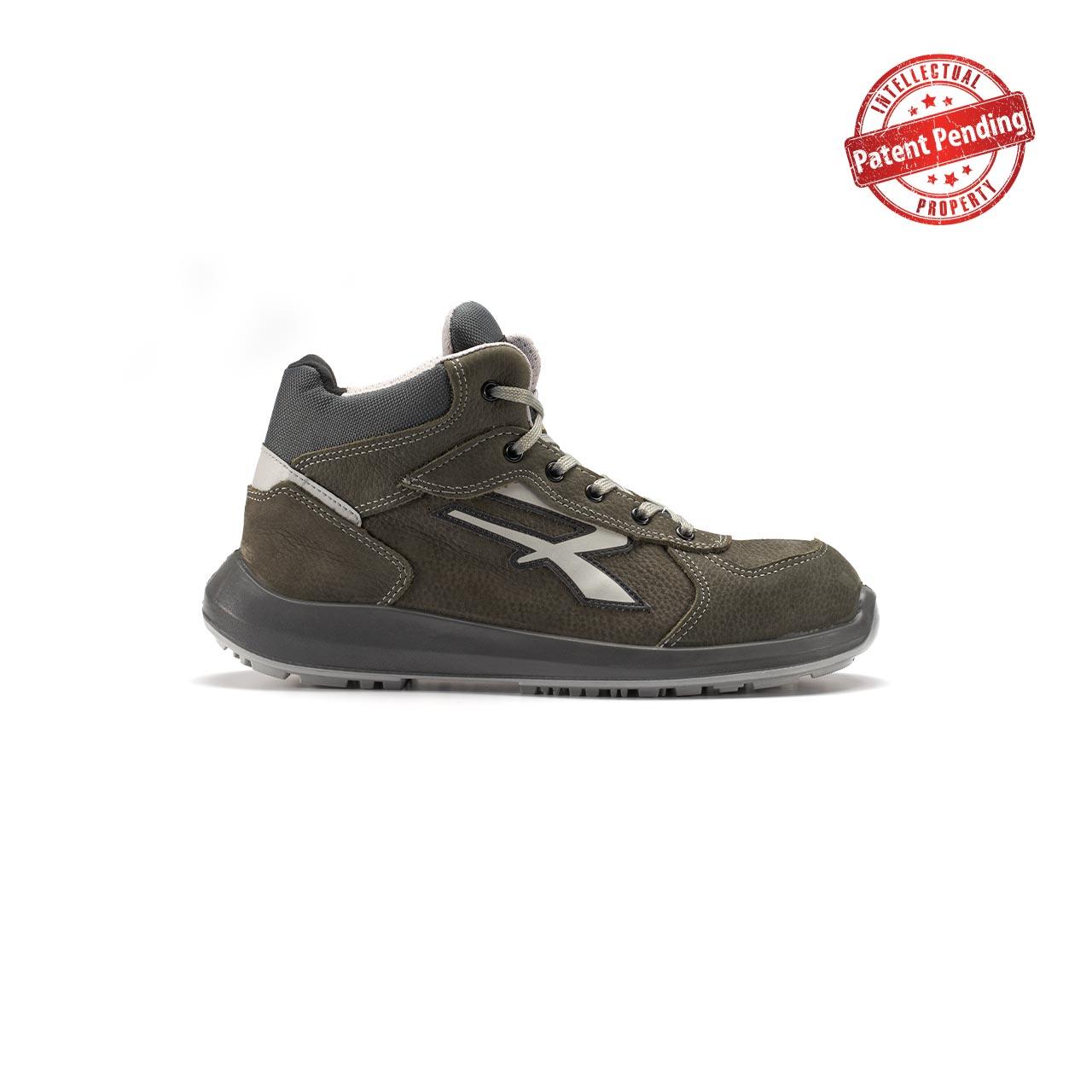 calzatura da lavoro alta upower modello merak linea redup vista lato destro