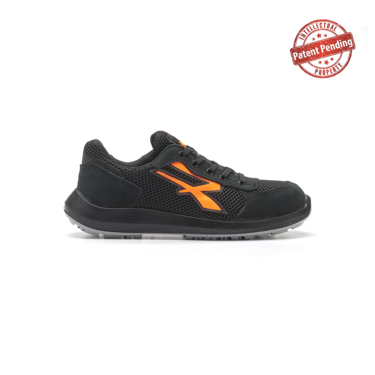 calzatura da lavoro upower modello atos linea redup vista lato destro