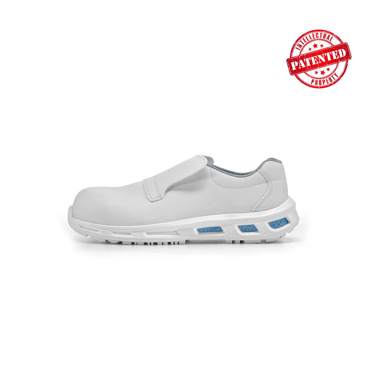 calzatura da lavoro upower modello blanco linea redlion vista lato sinistra
