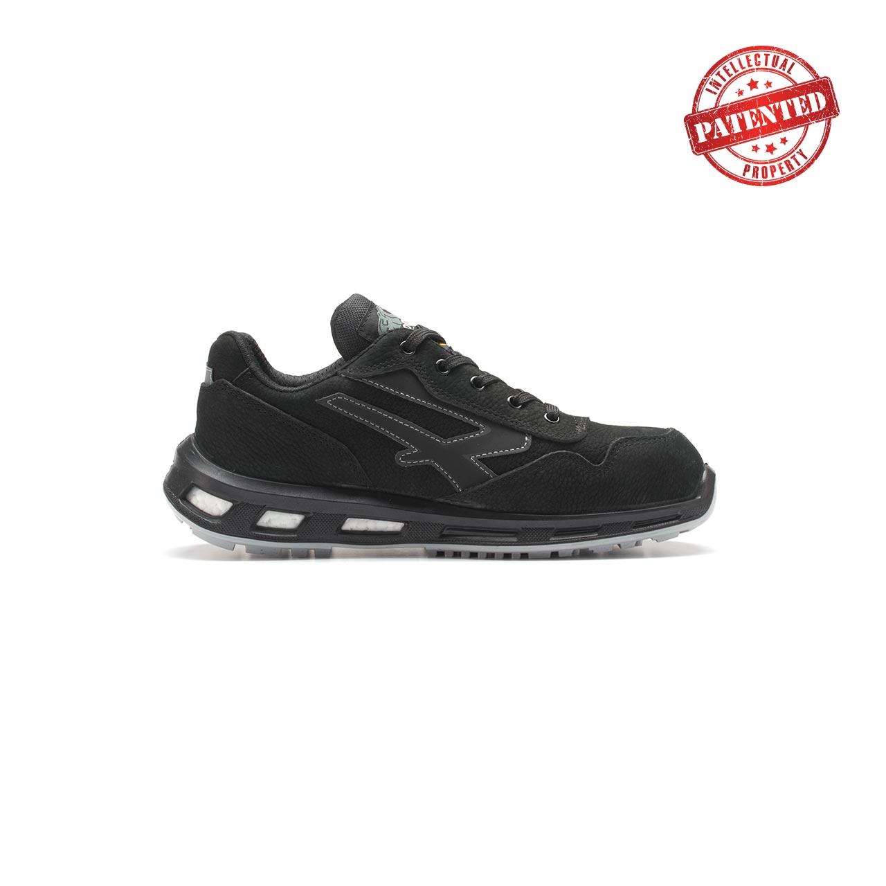 calzatura da lavoro upower modello carbon linea redlion vista lato destro