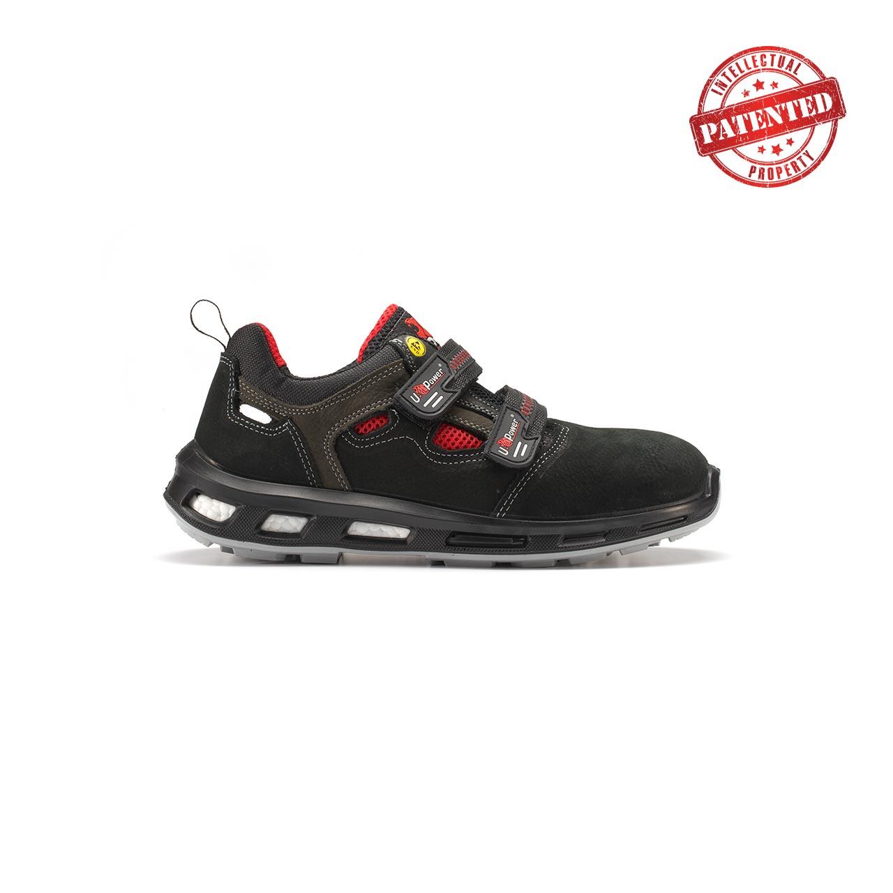 calzatura da lavoro upower modello cody linea redlion vista lato destro