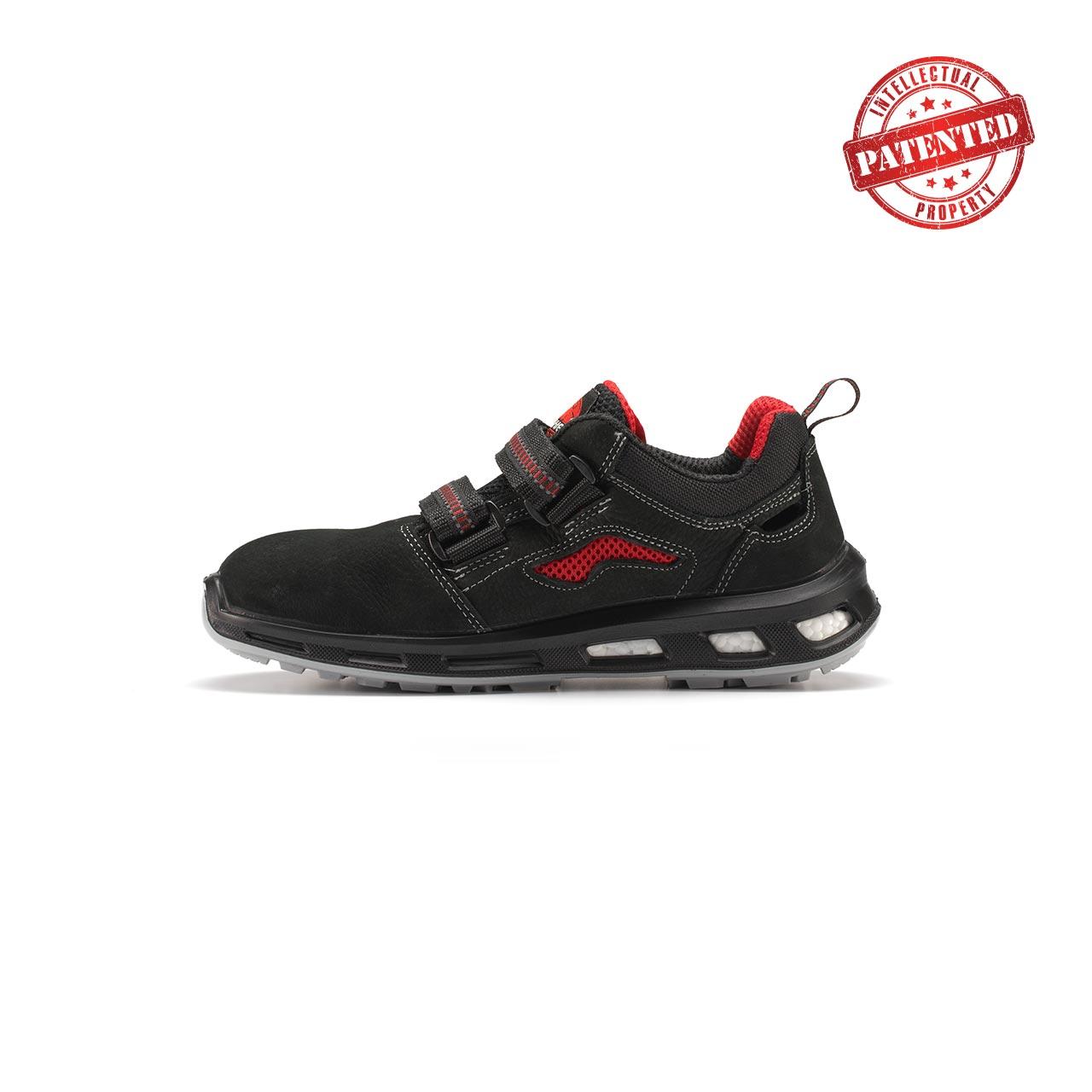 calzatura da lavoro upower modello cody linea redlion vista lato sinistra