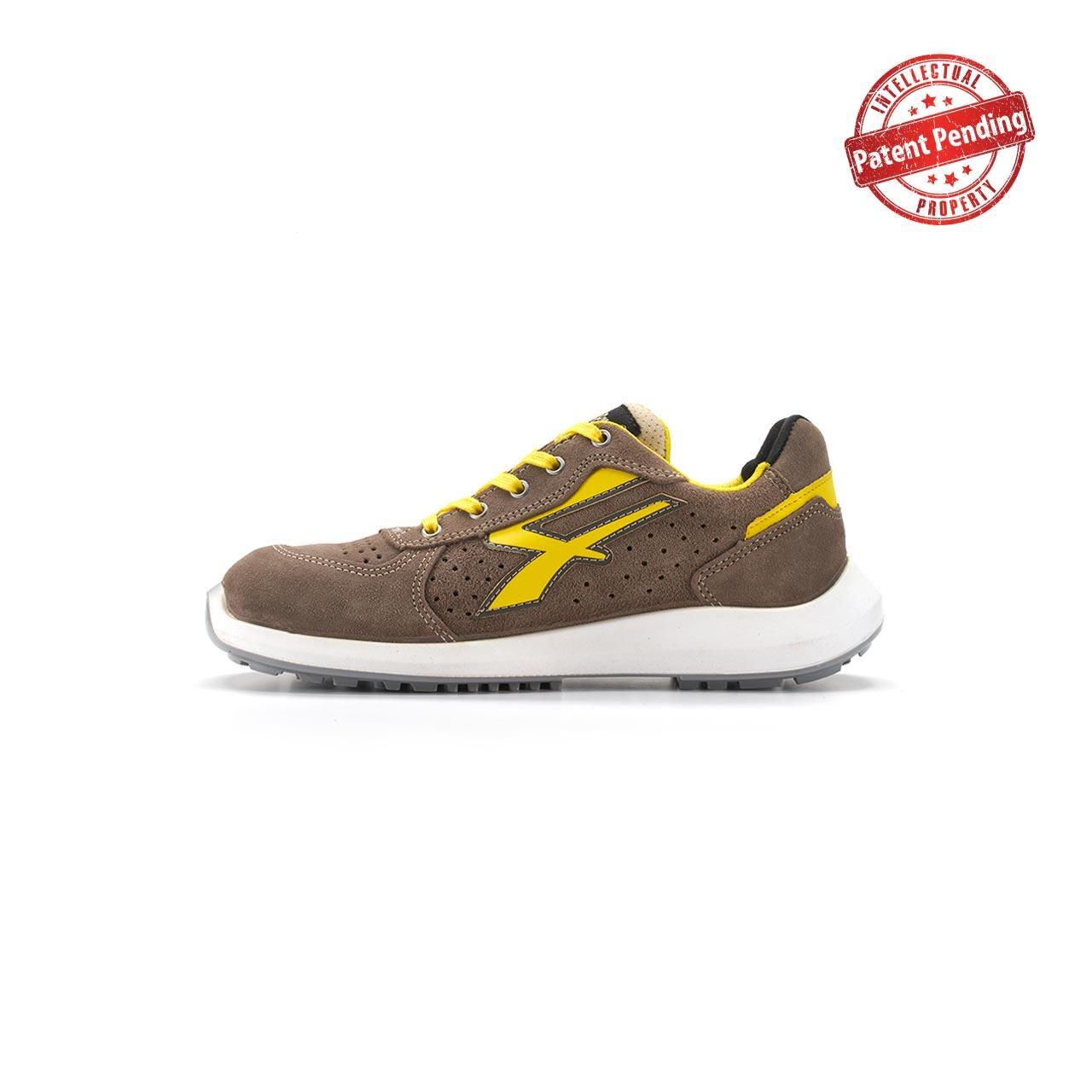 calzatura da lavoro upower modello dorado linea redup vista lato sinistra