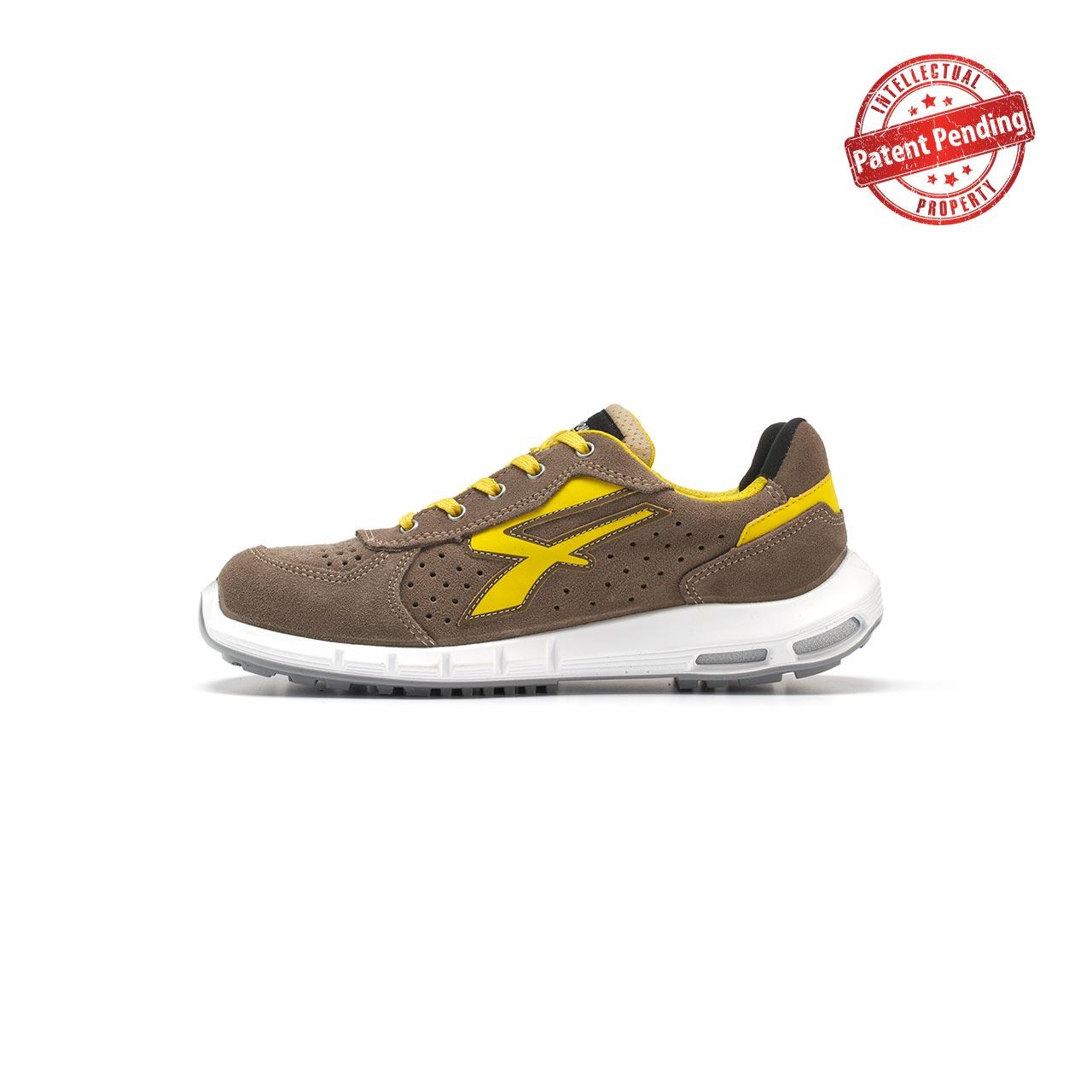 calzatura da lavoro upower modello dorado plus linea redup plus vista lato sinistra
