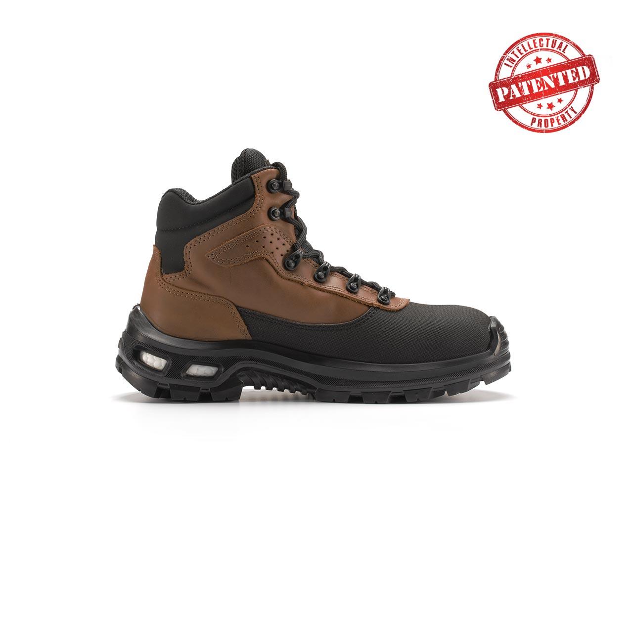 calzatura da lavoro upower modello floyd linea redlion vista lato destro