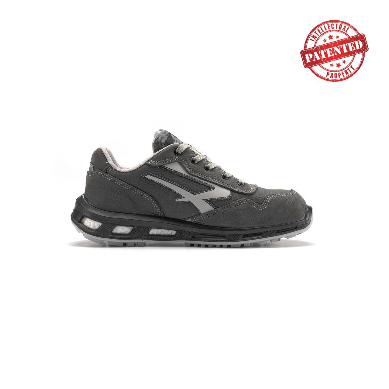 calzatura da lavoro upower modello kick linea redlion vista lato destro