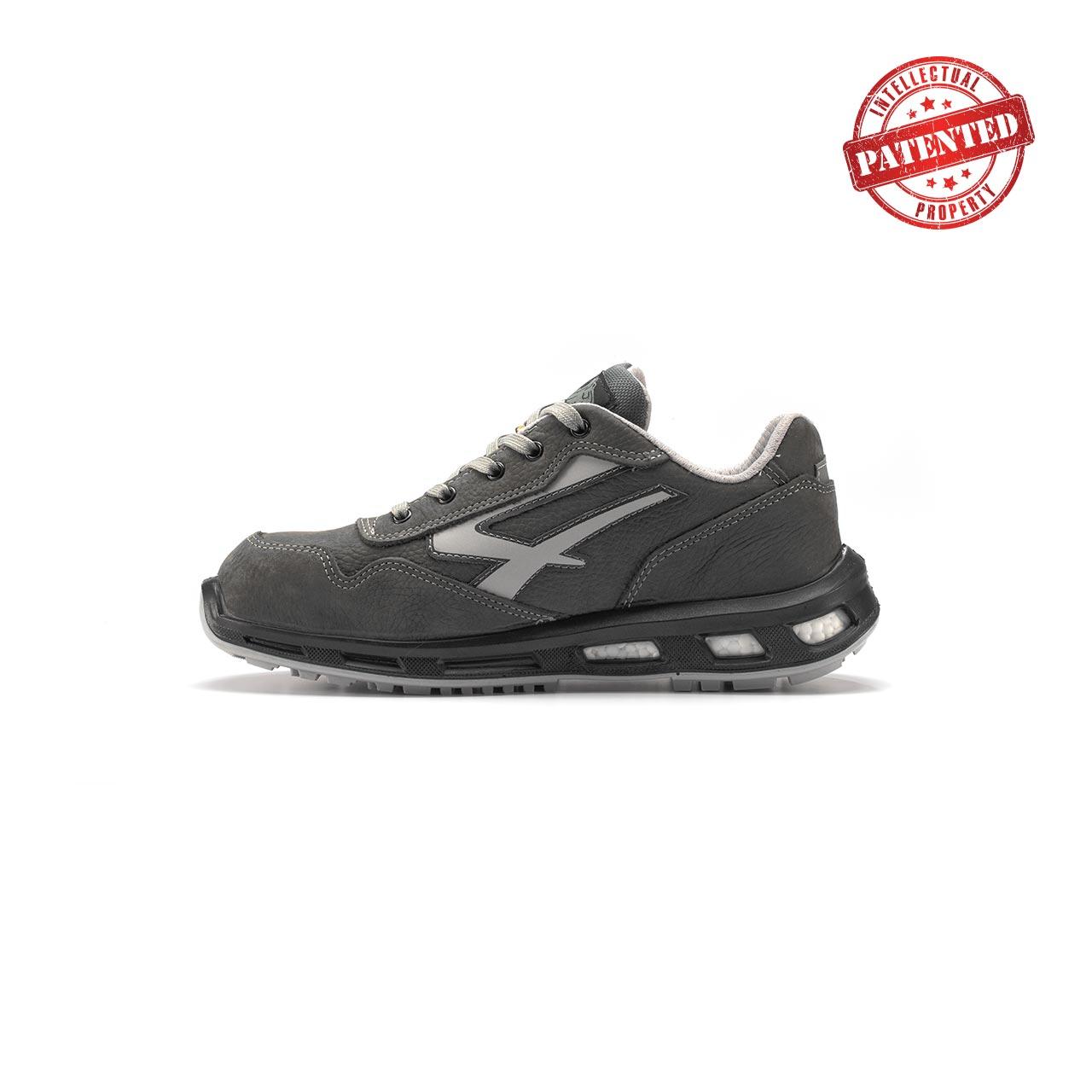 calzatura da lavoro upower modello kick linea redlion vista lato sinistra