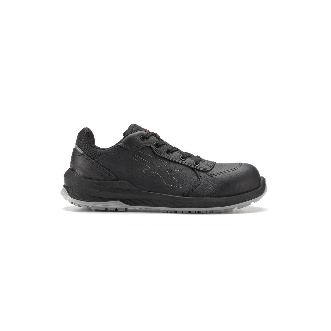 calzatura da lavoro upower modello nero linea redindustry vista lato destro