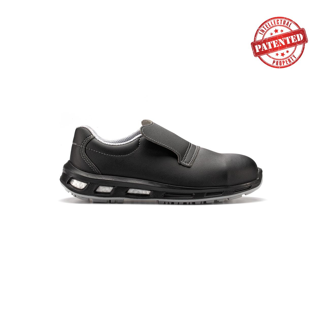 calzatura da lavoro upower modello noir linea redlion vista lato destro