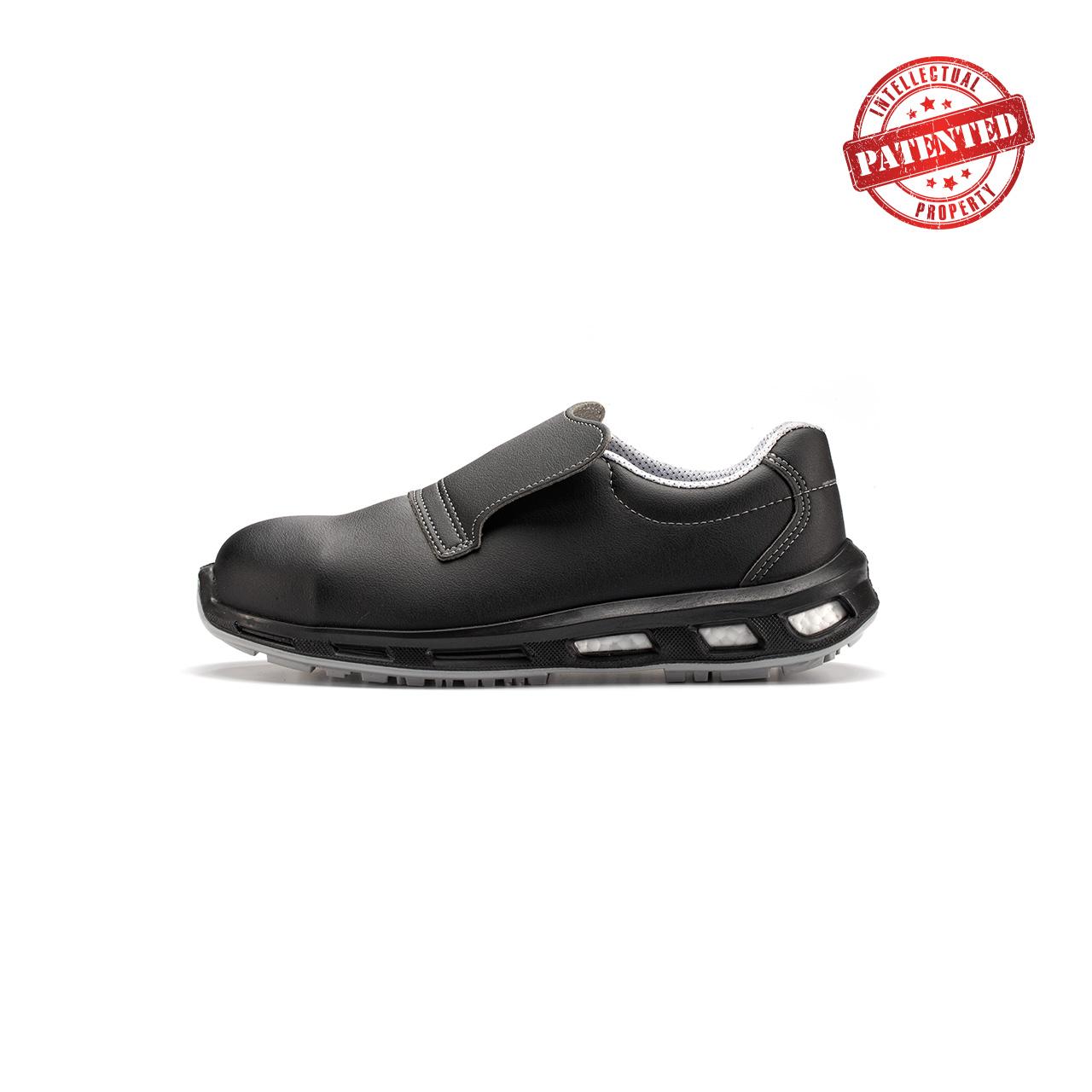 calzatura da lavoro upower modello noir linea redlion vista lato sinistra