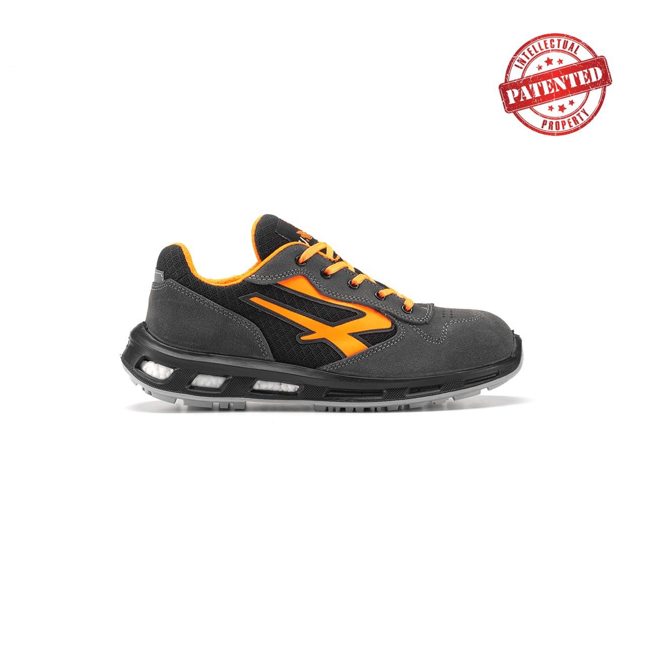 calzatura da lavoro upower modello orange linea redlion vista lato destro