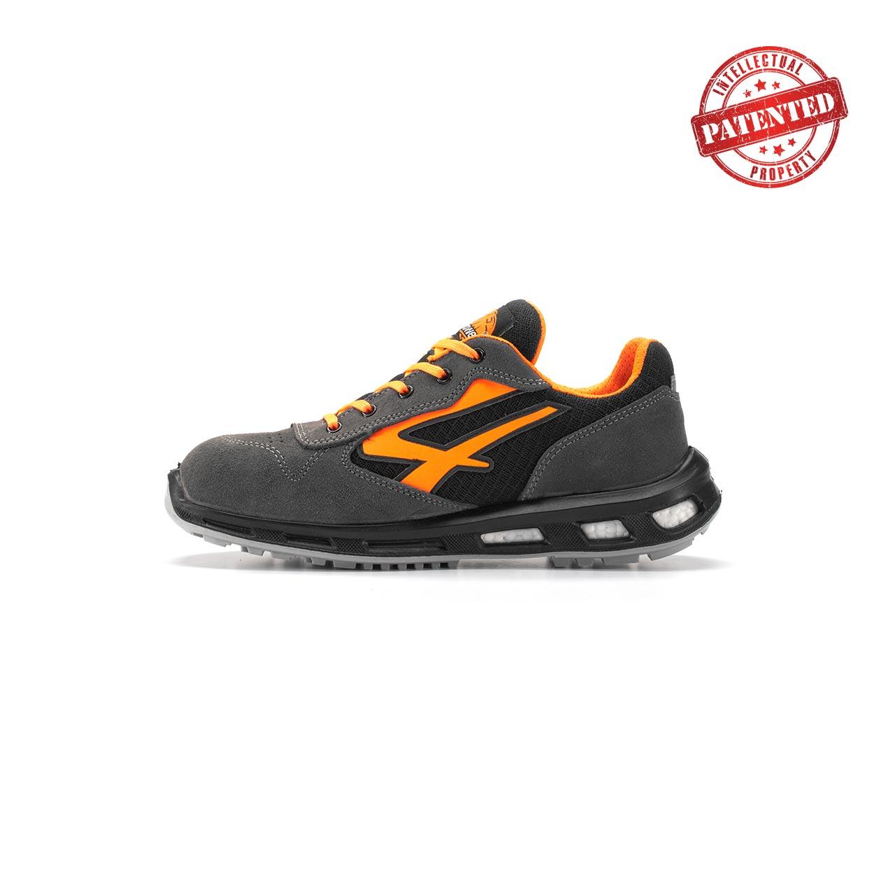 calzatura da lavoro upower modello orange linea redlion vista lato sinistra