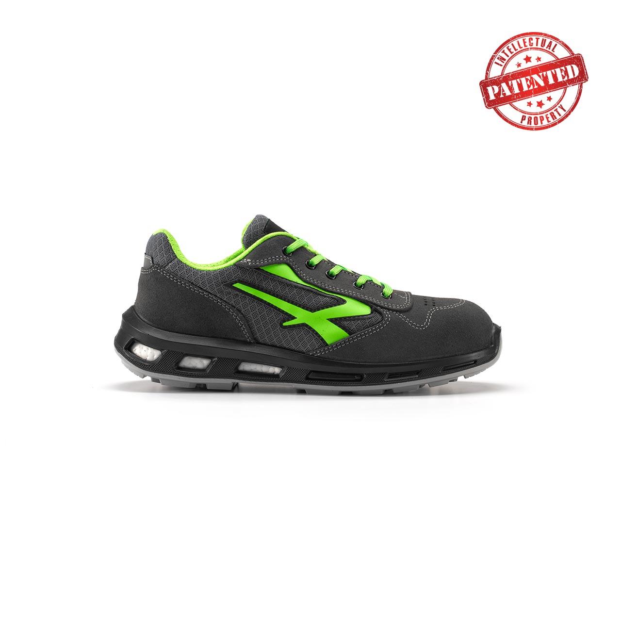 calzatura da lavoro upower modello point linea redlion vista lato destro