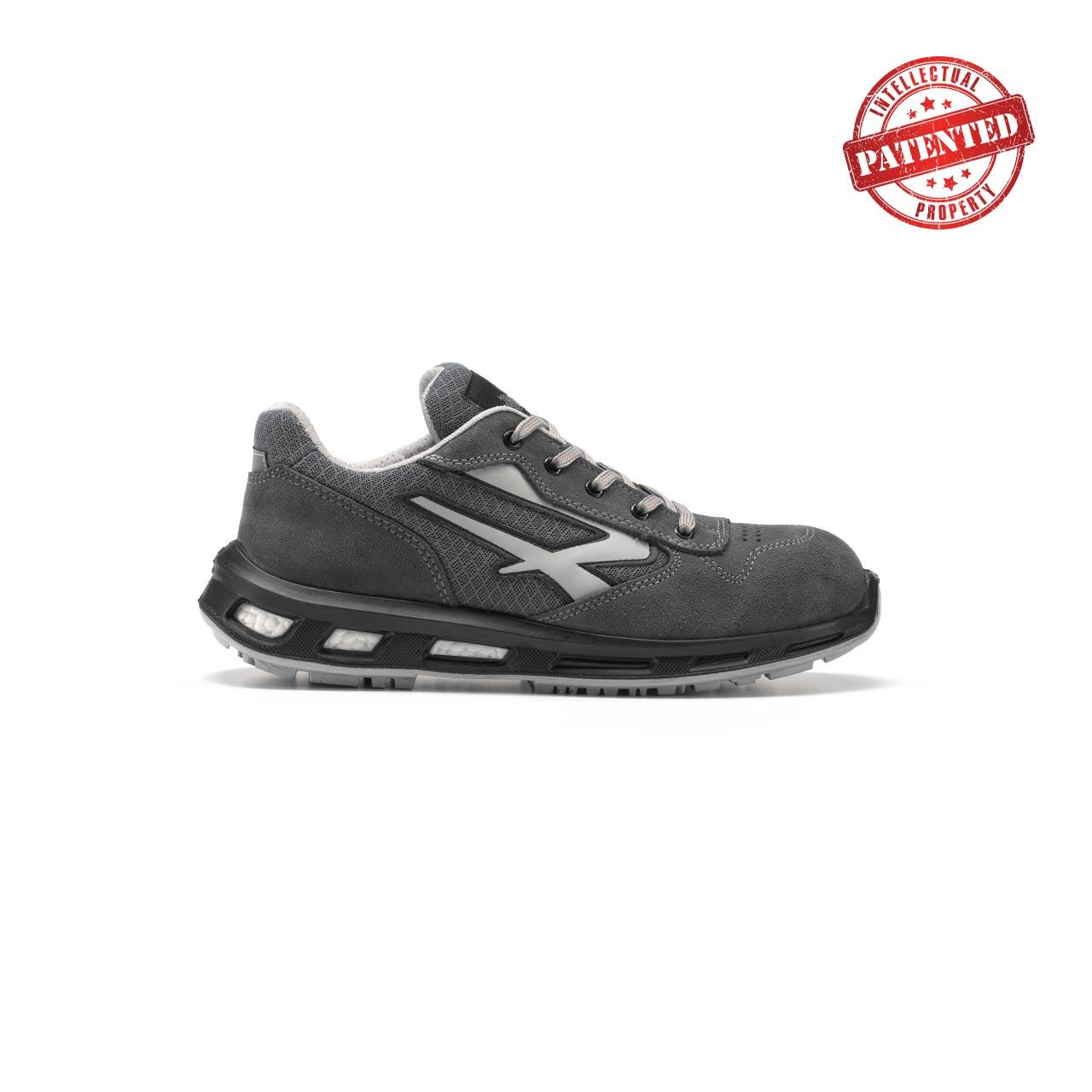 calzatura da lavoro upower modello push linea redlion vista lato destro